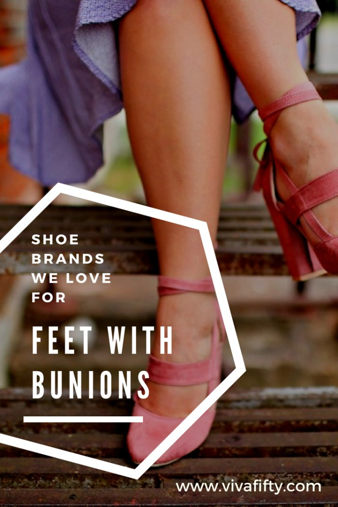 I've suffered from bunions most of my life so, I´m sharing with you the shoe brands that have been kinder to my feet and that I swear by, and of course this does not mean they will work for you! But hey, you never know, and I hope one of these will be the right fit! #shoes #comfyshoes #bunions #midlife