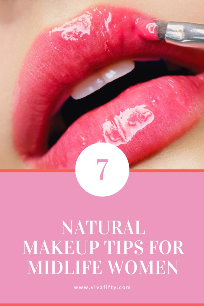 When it comes to makeup in midlife -you've probably heard this before- but less is definitely more. With the onset of fine lines and wrinkles, foundation can tend to cake in crow's feet and around the lips. If you have hooded eyes, eyeshadow needs to be used differently than when you were younger. Here are some tips to help you look put together and natural. #midlife #beauty #makeup
