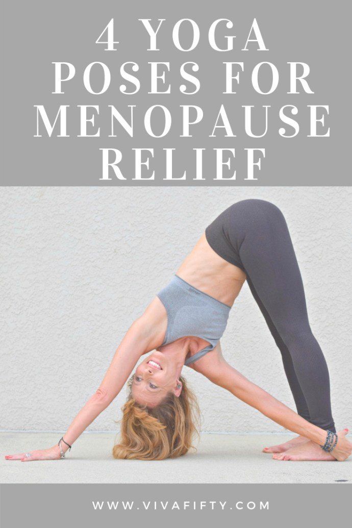 The combination of types of asana yoga I practice (yin, yin yang, restorative, vinyasa, nidra, hatha, and aerial), have helped me realize in my own body and spirit what poses are good for women who, like me, may need relief from the baffling and often unexpected symptoms of menopause. #menopause #yoga #midlife #yinyoga