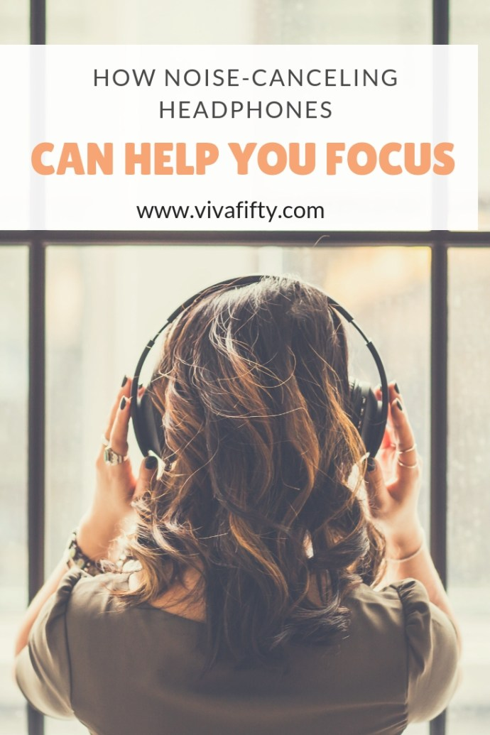 If you work from home or are a student, here is how noise canceling headphones can help you! AD #headphones #focus #workfromhome