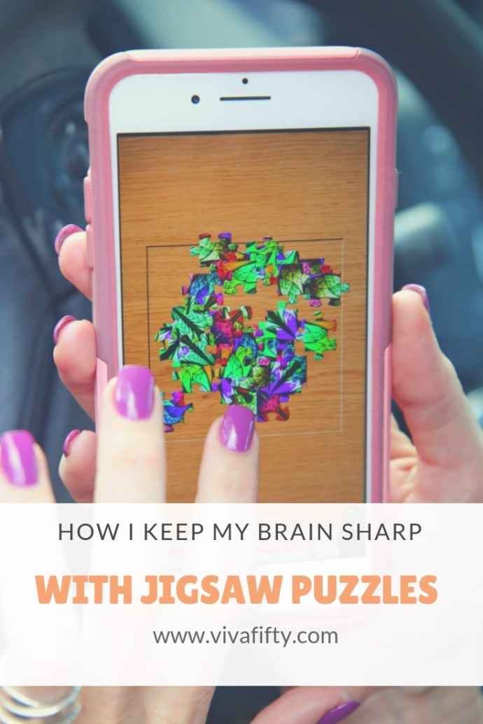 How I keep my brain sharp with puzzles #ad #Jigsawpuzzle