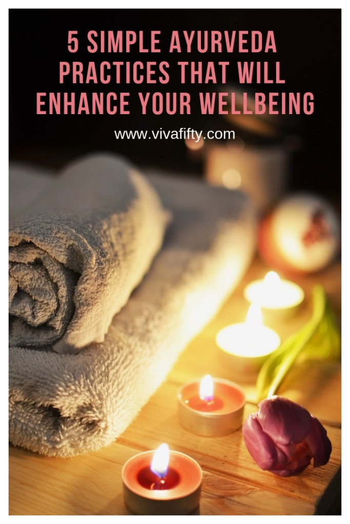Through Ayurveda, yoga´s ancient sister science, you can enhance your life in a relatively short time. Try these five practices and you will feel invigorated and more balanced. #ayurveda #yoga #health