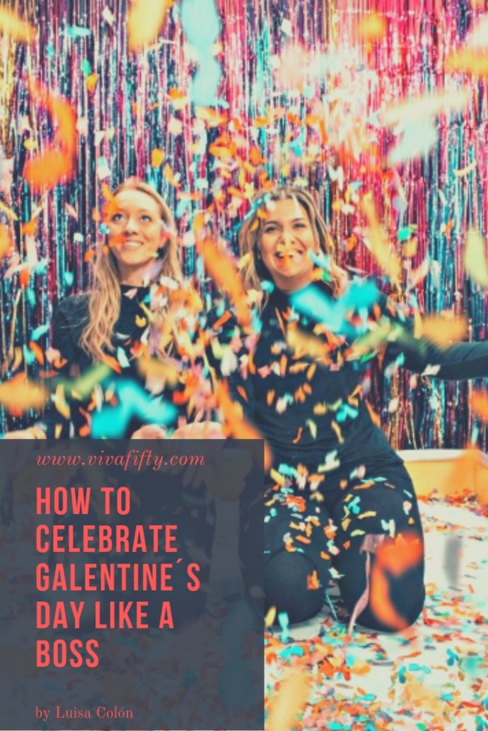 Whether you´re in a relationship or not, celebrating Galentine´s day with your friends is a good way to remind yourself that the women in your life are as important as your loved one! #GalentinesDay #ValentinesDay #Friendship