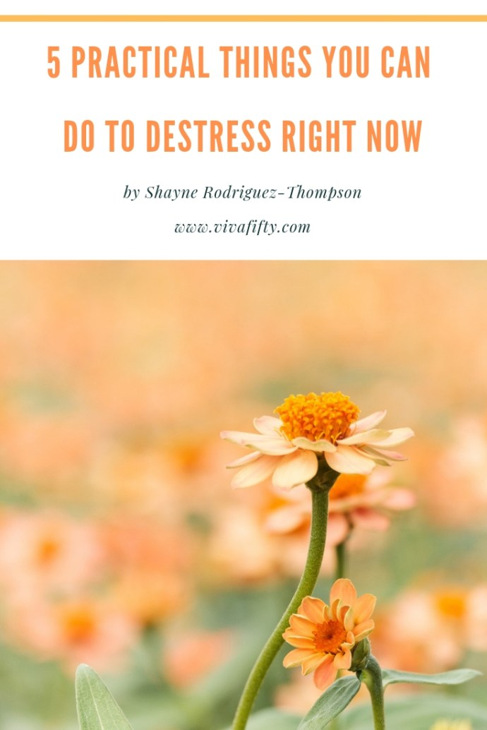 Stress management is definitely an ongoing process. In the meantime there are some practical things you can do right now to stop stress in its tracks. #destress #stressmanagement #stressfree