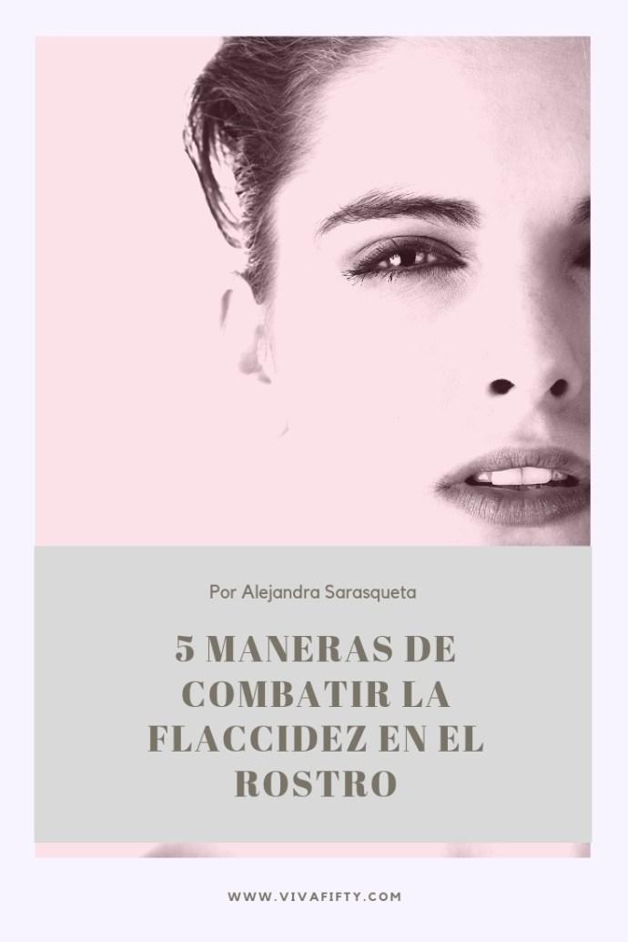 La flaccidez del rostro es algo que empieza cuando disminuye la producción de colágeno y elastina. Cuanto antes empecemos a cuidar de la piel, mejor. #belleza #cuidadodelcutis #antiedad