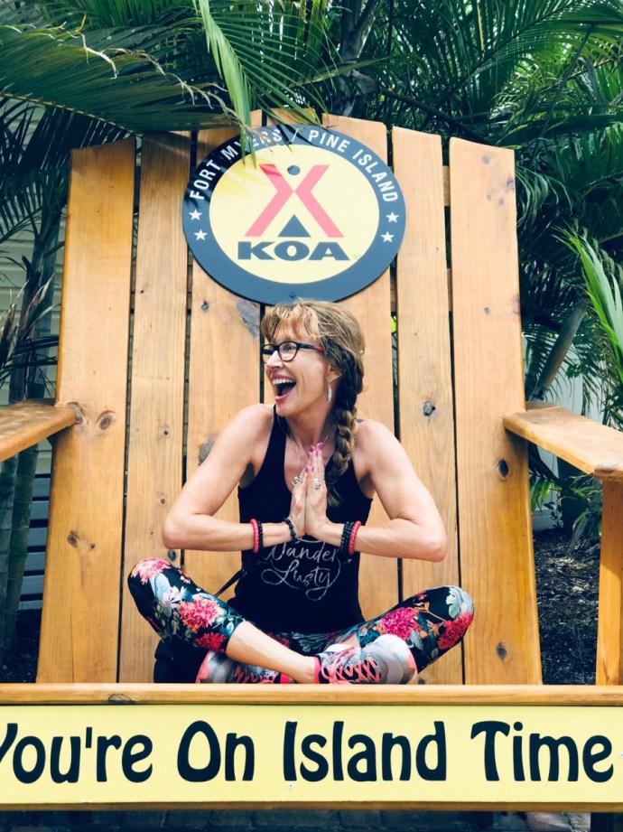 A girls' weekend at KOA