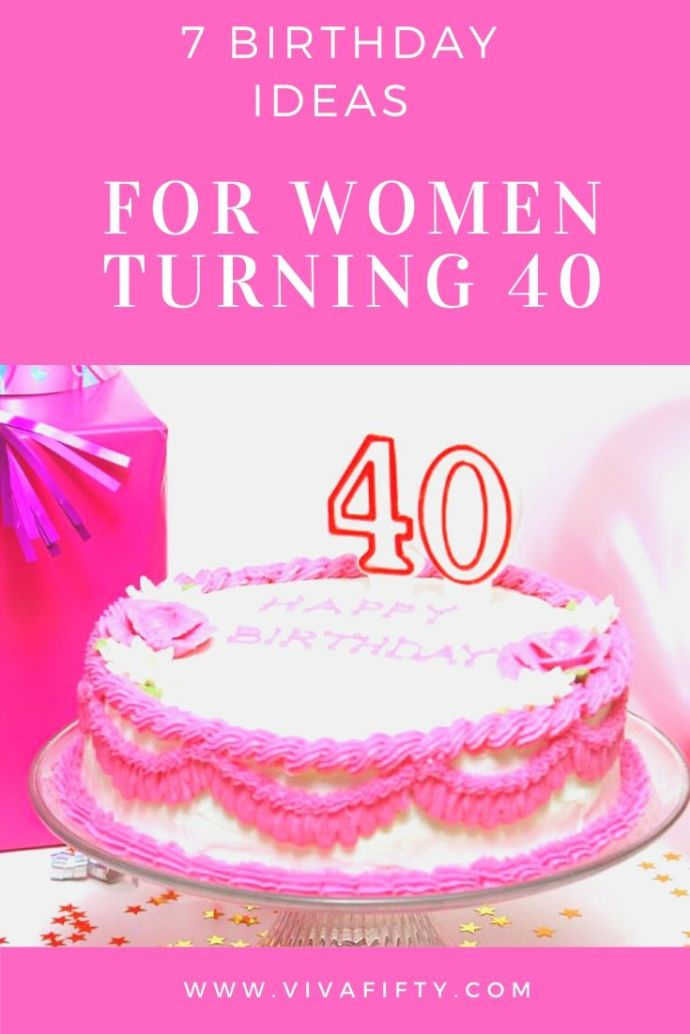 Turning 40 is a milestone which deserves a special celebration. Here are some special celebratory ideas for a 40th birthday.