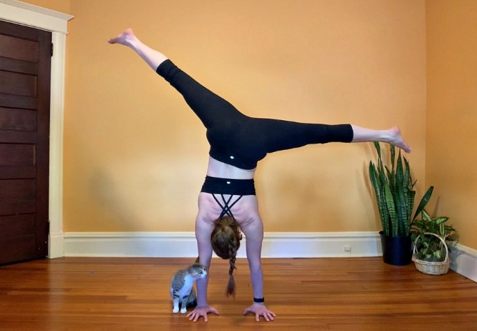 If you would like to learn handstands and you're over 40 or even over 50, you can do it! I found just the right coach for you.
