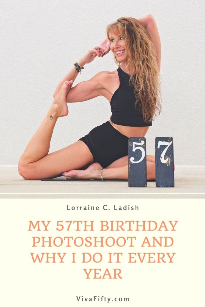 Since I turned 50, every year for my birthday I have a dedicated photoshoot. It helps me honor and appreciate the passage of time.