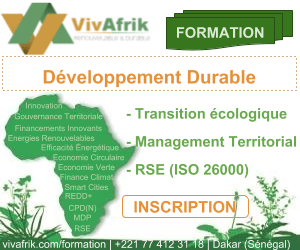 Formation en développement durable à Dakar au Sénégal