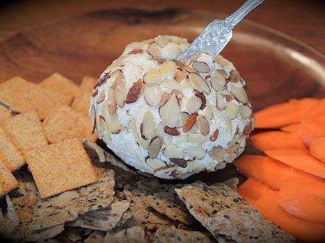 white truffle oil cheese ball