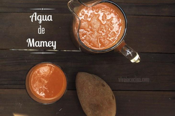 Agua de Mamey