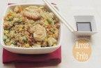 Arroz frito con Camarones o Gambas. Receta fácil en 45 minutos