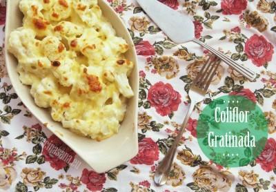 Segunda receta: Coliflor gratinada