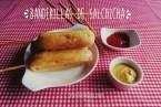Banderillas de Salchicha. Receta de aperitivo fácil y rápido de hacer