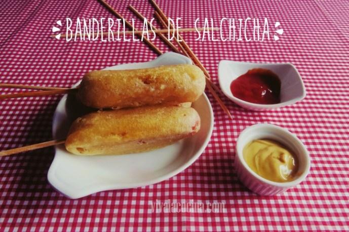 Banderillas de Salchicha