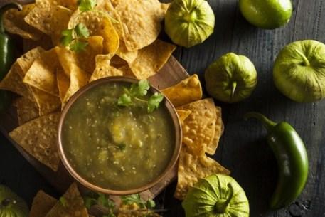 Historia de México a través de sus recetas: Salsa Verde casera con Cilantro