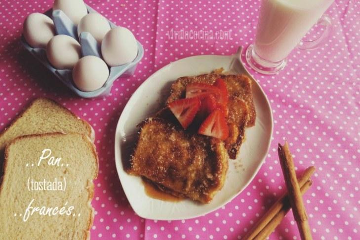 Receta de Pan francés o Tostadas francesas
