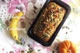 Panqué de Plátano y Calabaza - Sencillo y Rápido