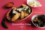 Quesadillas fritas de Champiñón - Receta casera y original