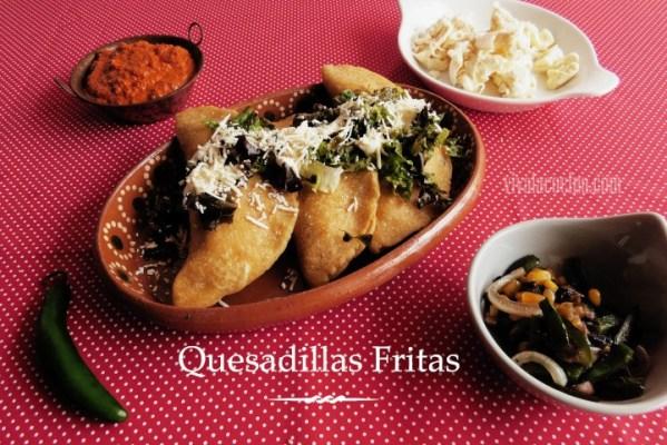Receta de Quesadillas Mexicanas de Champiñones