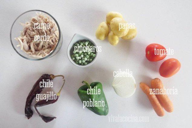 Ingredientes para el Panqué de plátano y calabaza