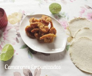 Gambas o Camarones Empanizados – Receta fácil