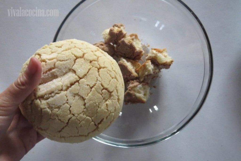 Receta de budin de pan rápido: Partir el Pan