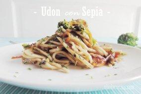 Udon con Sepia y Vegetales: Receta oriental