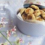 Receta Galletas de Coco y Mango: fácil y diferente
