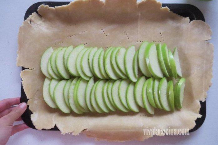 Colocar las Manzanas