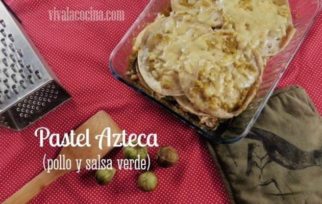 Receta de Pastel Azteca