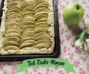 Tarta Rustica de Manzana
