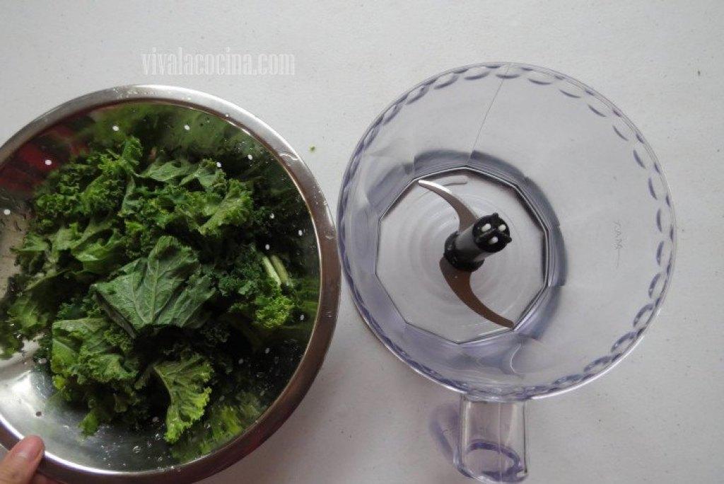 Colocar el Kale