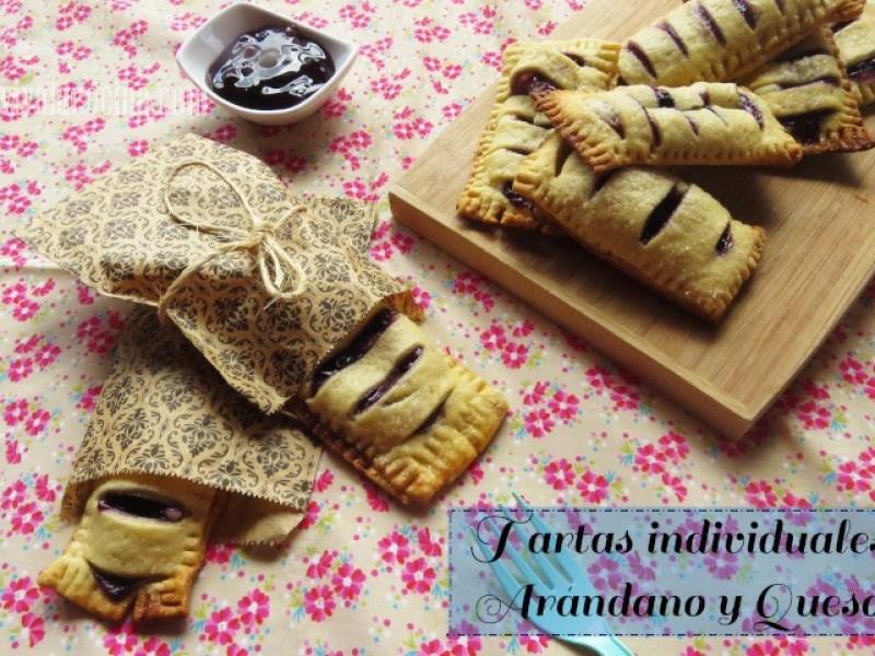 Tartas de Arandanos y Queso