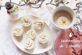 Malvaviscos (bombones o nubes) de Vainilla: receta