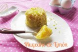 Mugcake de Limón y Lemon Curd | Pastel en taza