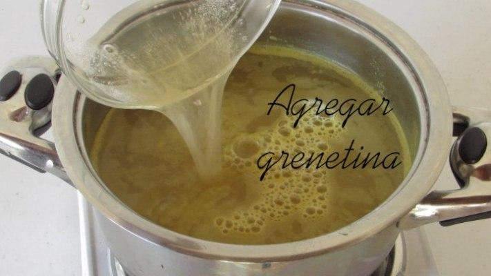 Grenetina para hacer gelatina de piña para la gelatina de jugo de piña