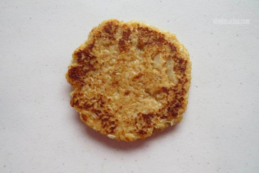 Tortita Frita en la sarten