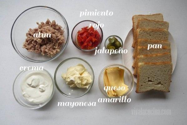 Ingredientes para hacer pastel de atún