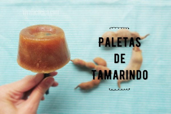 Paletas de Tamarindo