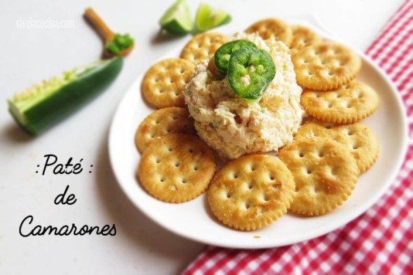 Cómo hacer Paté de Camarones o Gambas