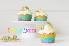 Cómo hacer Cupcakes Arcoíris Sin Horno: Receta para el Día del Niño