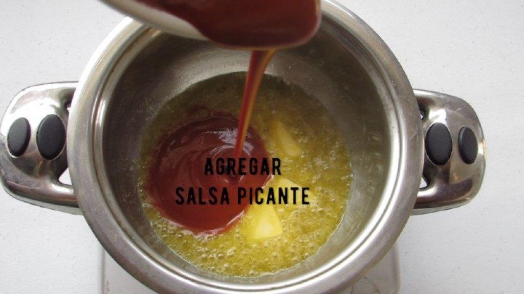 Agregar salsa picante