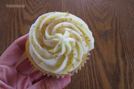 Decorar el Cupcake para los Cupcakes de Naranja