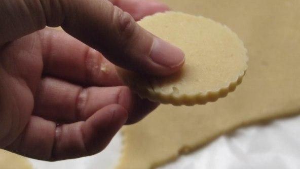 cortar la galleta