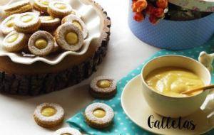 Galletas de Mantequilla Rellenas de Crema de Piña: Receta