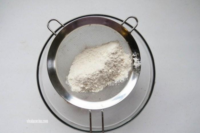 cernir la harina