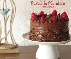 Pastel de Chocolate con Mayonesa: Receta de Celebración