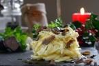 Pasta deliciosa para acompañar la cena de Navidad o Año Nuevo
